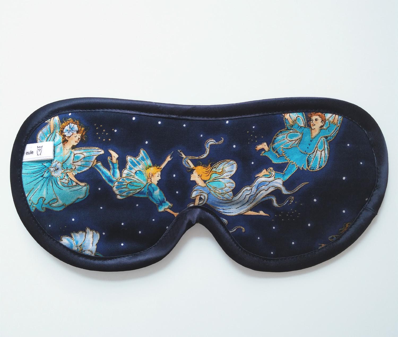 schlafbrille mit elfen