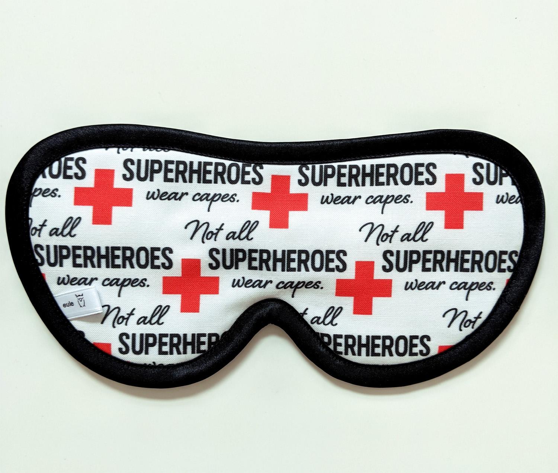 schlafbrille für männer superhero