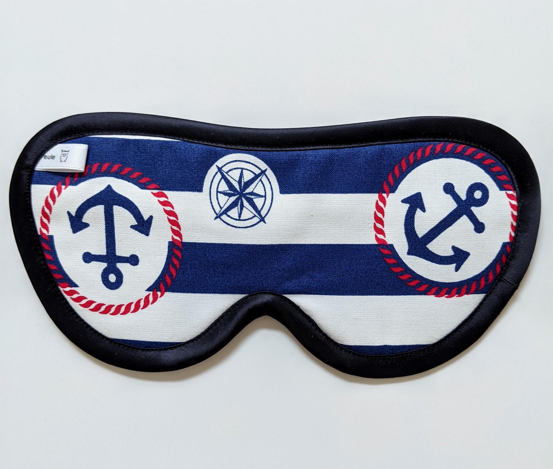 schlafbrille für männer mit ankern
